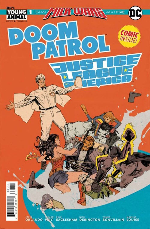 milk wars doom patrol jla dc comics fumetti fumetto