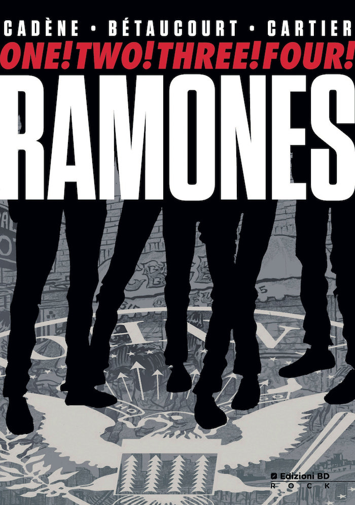 fumetto Ramones graphic novel edizioni bd
