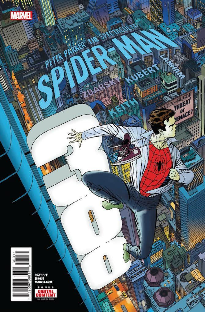 spectacular spider-man chip zdarsky marvel comics fumetto
