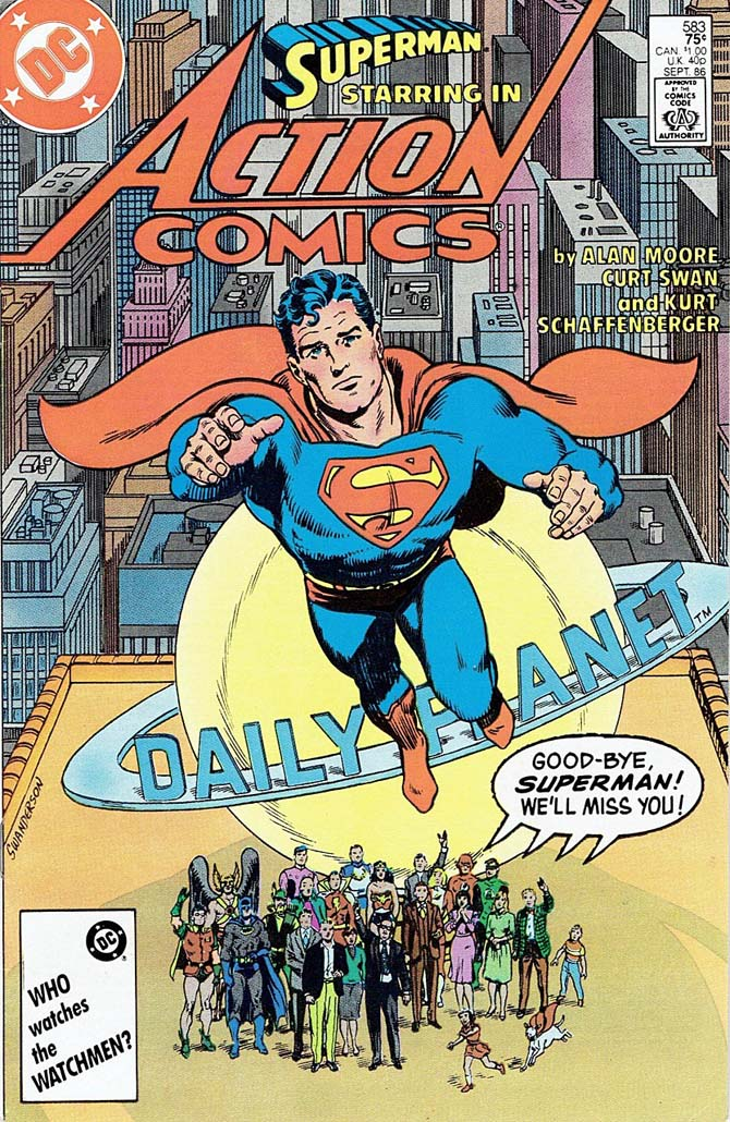 superman curt swan dc