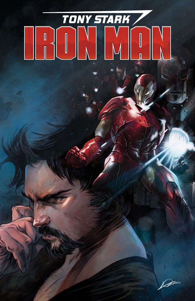 tony stark iron man fresh start slott shiti marvel comics