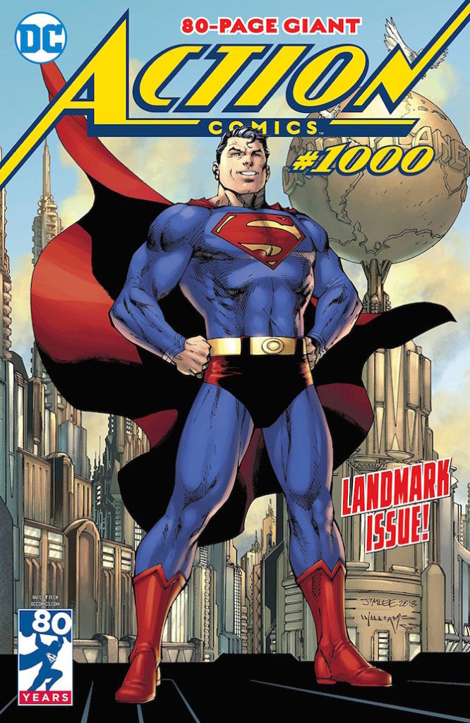 action comics 1000 superman fumetti bendis dc comics