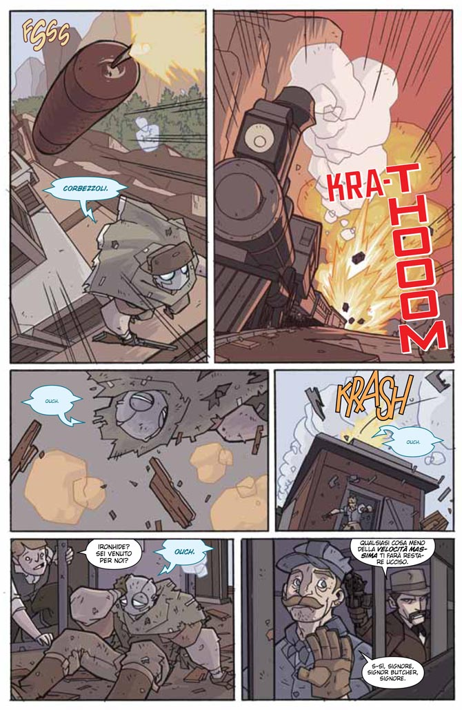 atomic robo idw renoir fumetto clevinger weneger