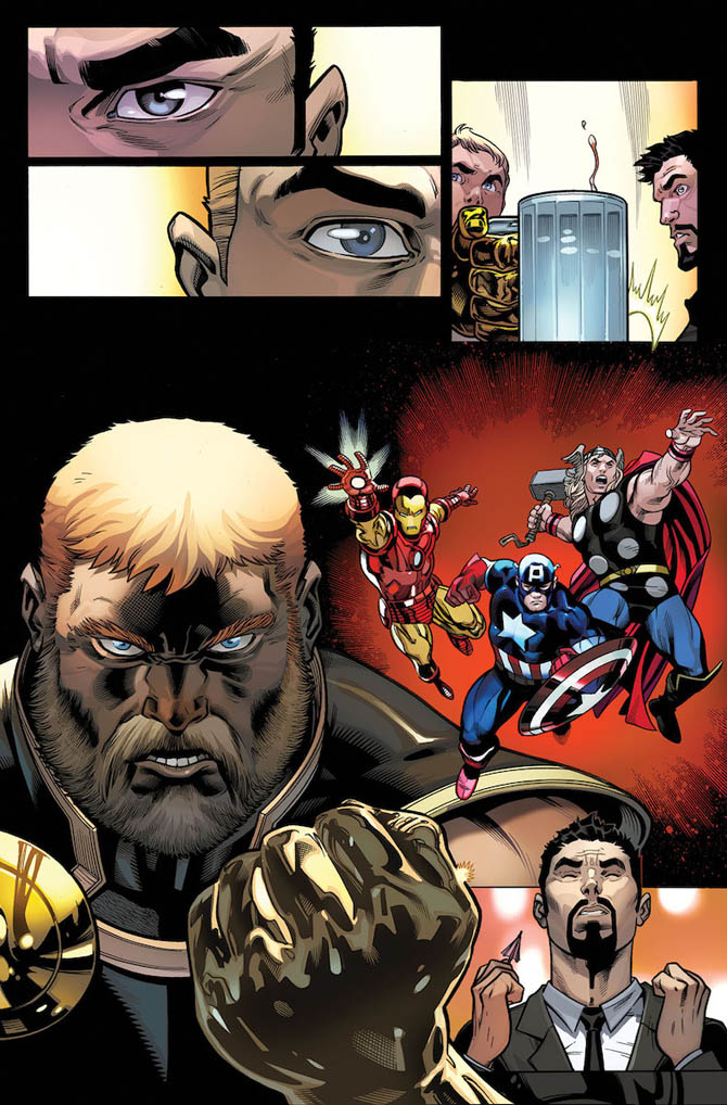 avengers fresh start aaron mcguinness marvel
