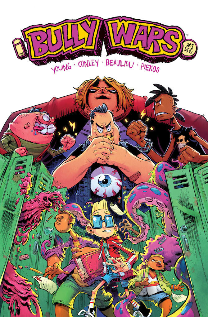 bully wars skottie young image comics fumetto
