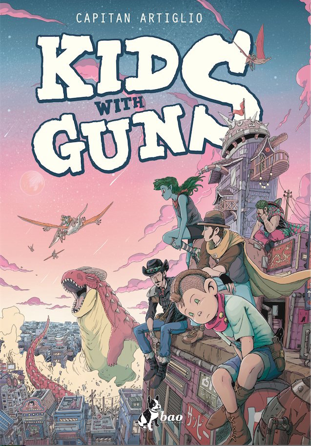 kids with guns capitan artiglio bao fumetto