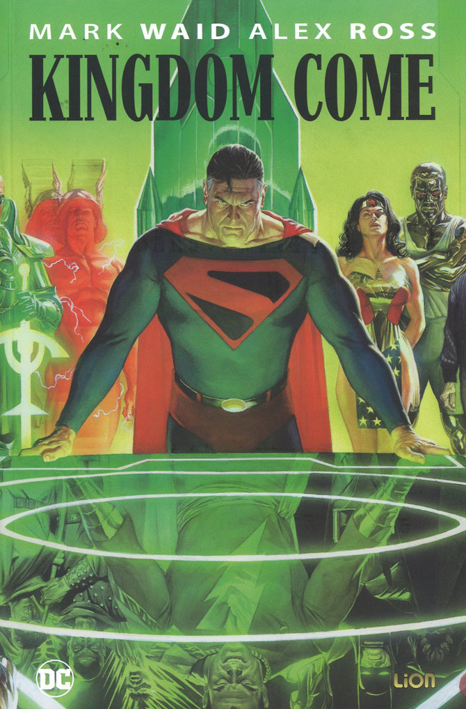 kingdom come alex ross mark waid dc lion