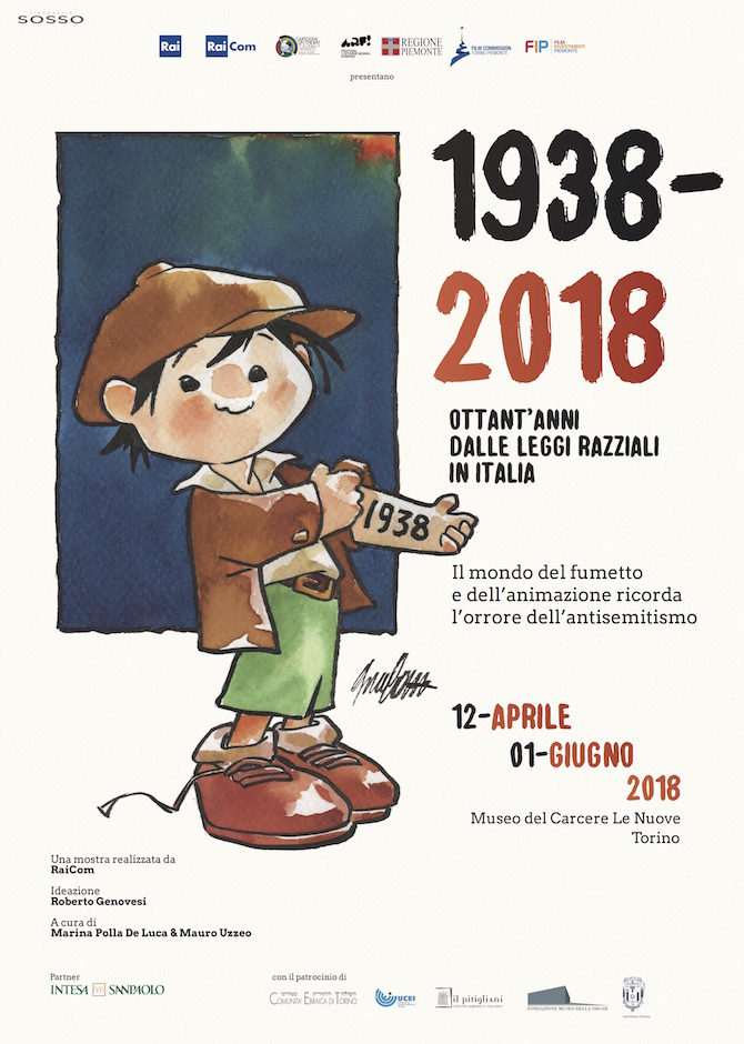 mostra leggi raziali cartoons on the bay