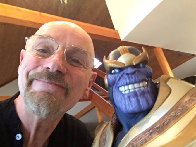 thanos avengers infinity war marvel jim starlin