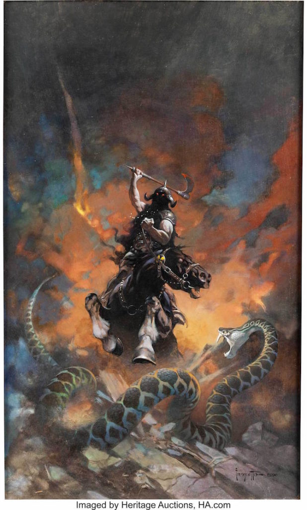 Frank Frazetta Death Dealer asta record