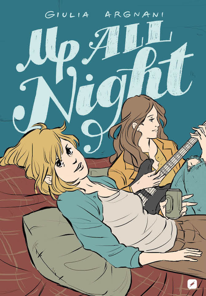 Up All Night Argnani edizioni bd