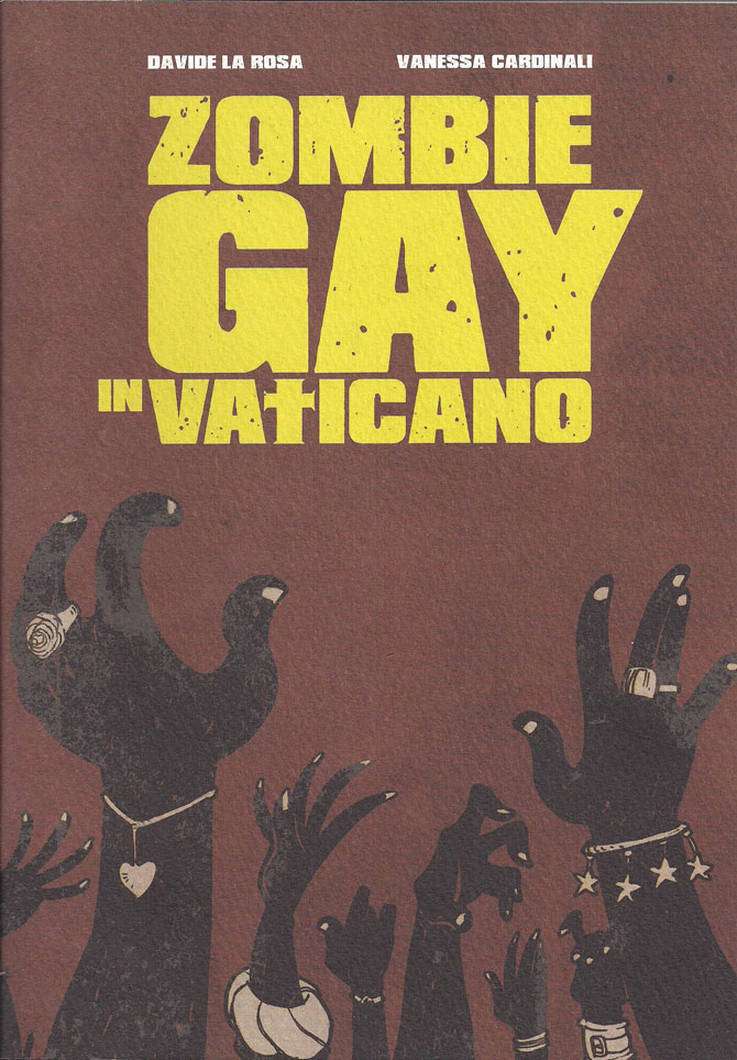Zombie Gay vaticano fumetto