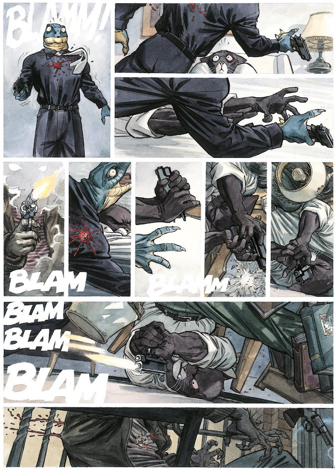 Blacksad Integrale fumetto
