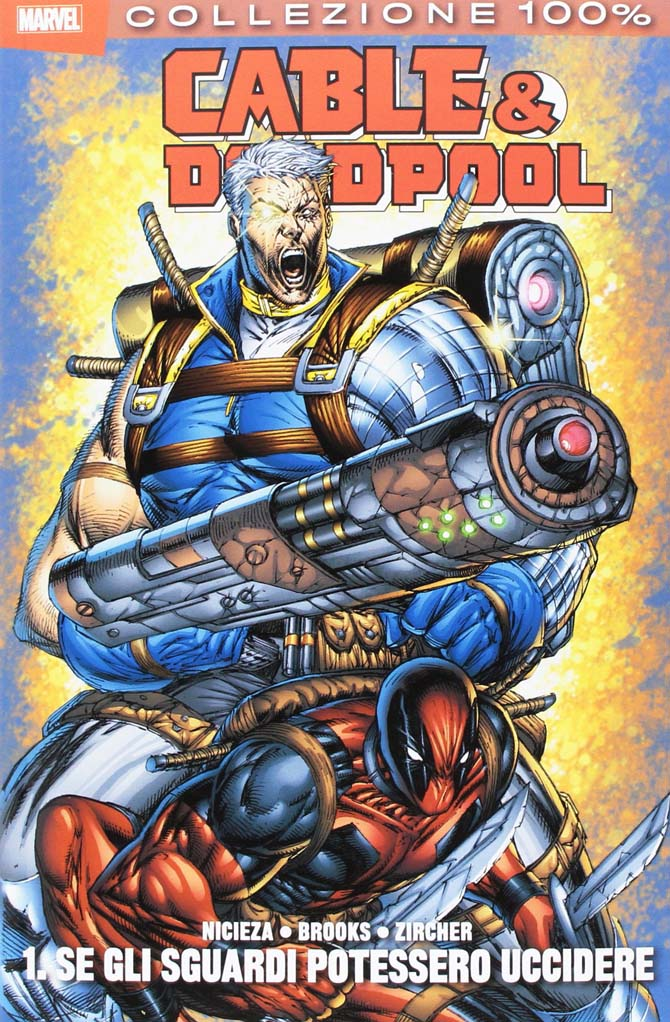 cable deadpool nicieza marvel comics