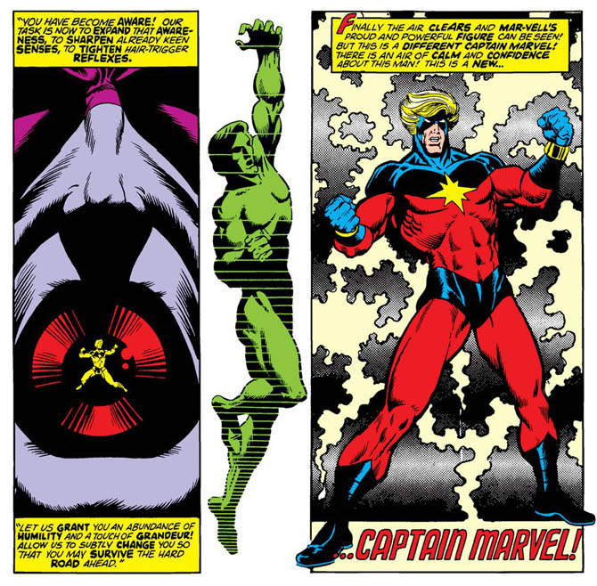 jim starlin captain marvel comics