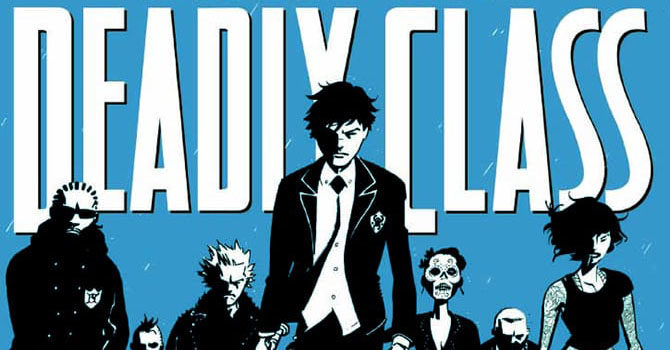 trailer deadly class serie tv fumetto