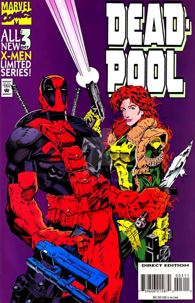 deadpool waid churchill marvel comics