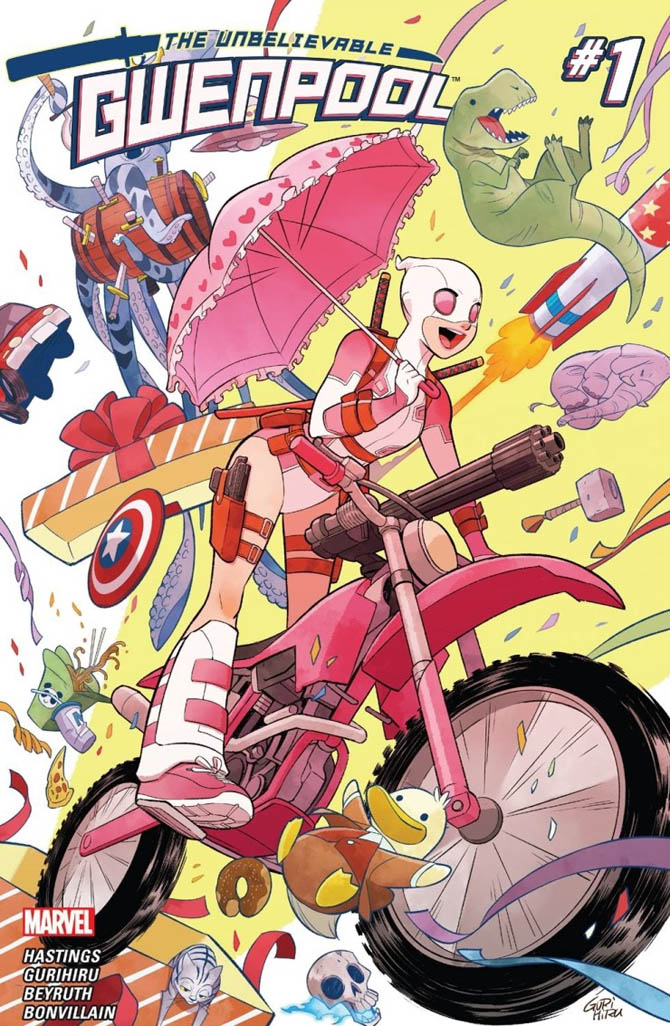 deadpool gwenpool marvel comics