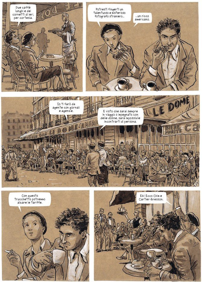 robert capa fumetti white star comics