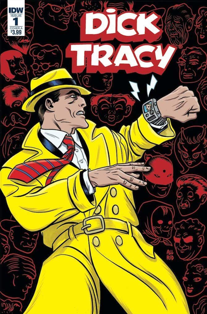 dick tracy mike allred fumetto