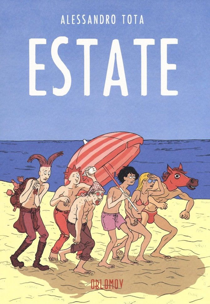 estate fumetto tota oblomov