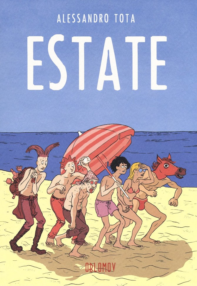 estate tota fumetto oblomov graphic novel