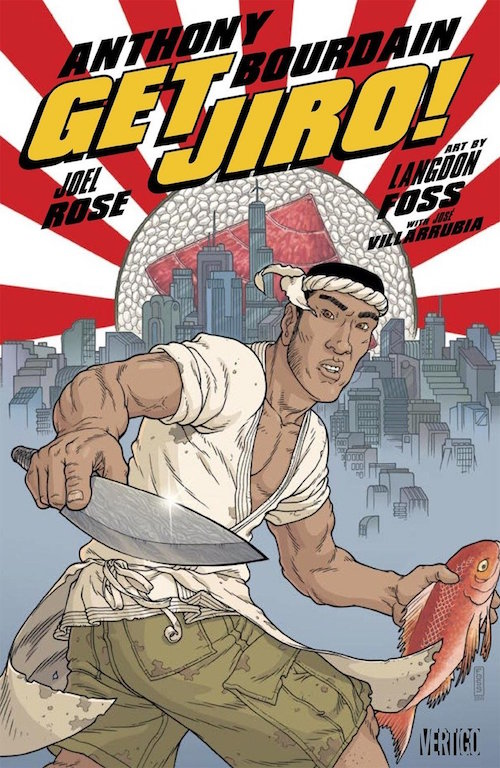 get jiro Anthony Bourdain morto fumetti