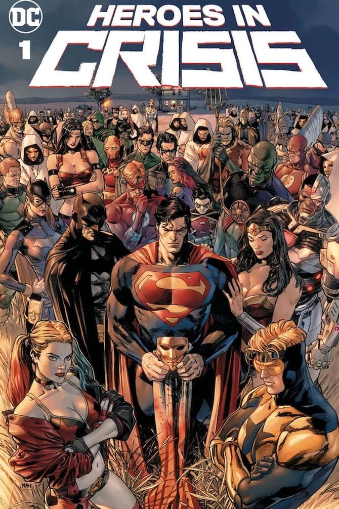 heroes in crisis dc comics fumetto tom king