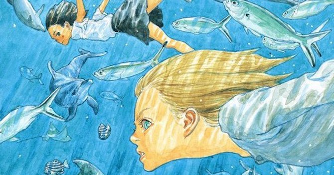 children of the sea daisuke igarashi manga anime