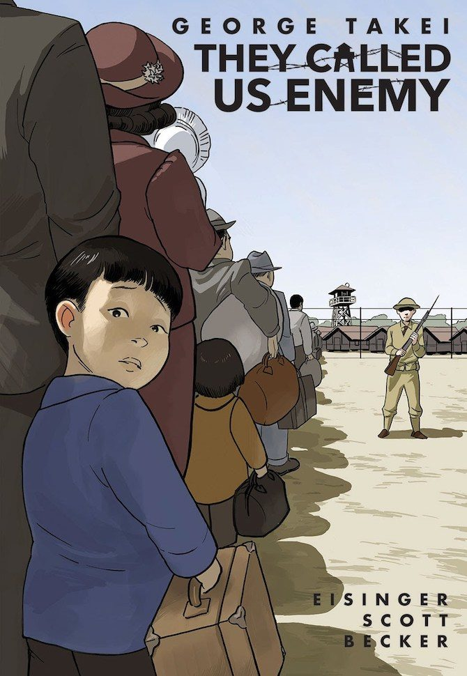 george takei they called us enemy star trek graphic novel