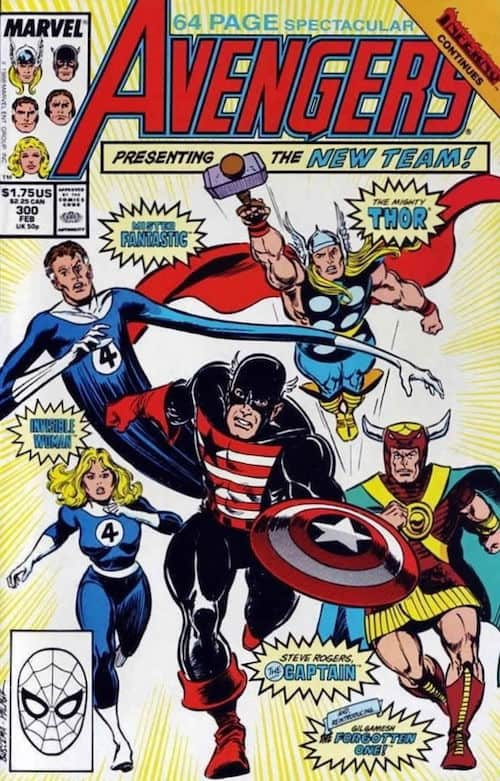avengers 300 marvel comics fumetto