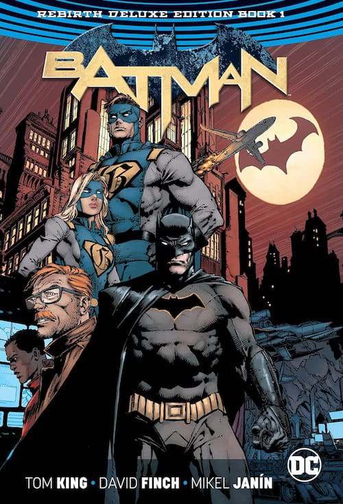 batman rebirth tom king fumetti dc comics
