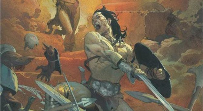 conan barbaro fumetto marvel ribic asrar cartoomics 2019