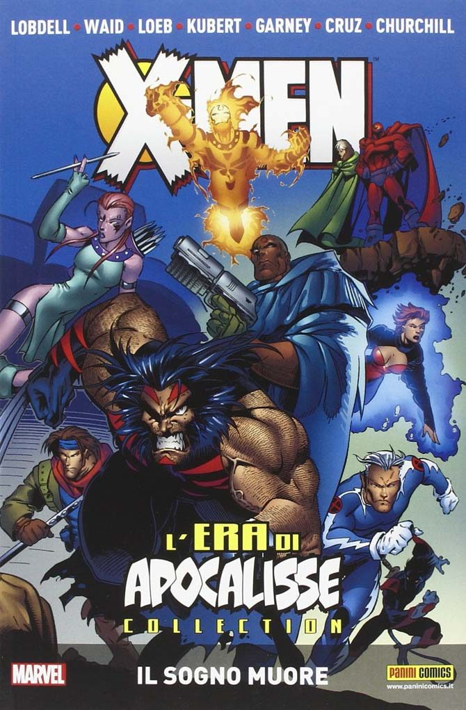 x-men era di apocalisse fumetto marvel