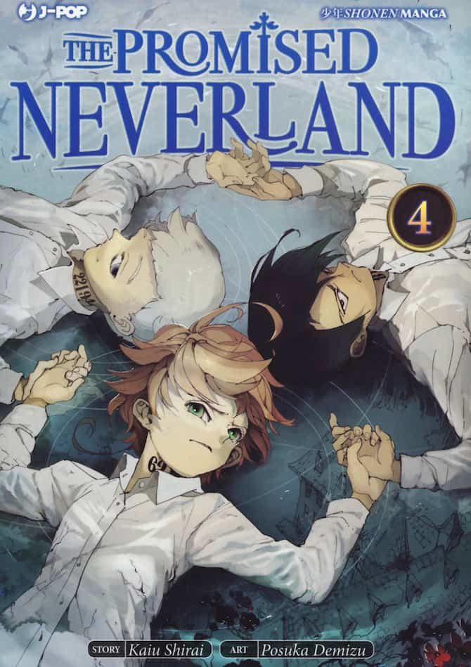 promised neverland 4 manga j-pop