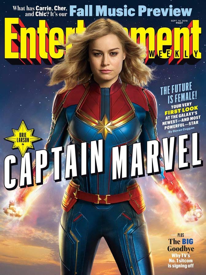 captain marvel foto film marvel