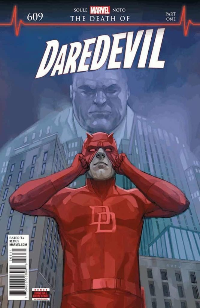 death of daredevil marvel