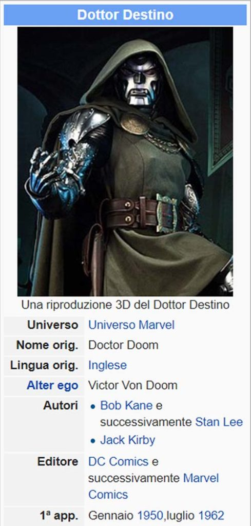 dottor destino wikipedia