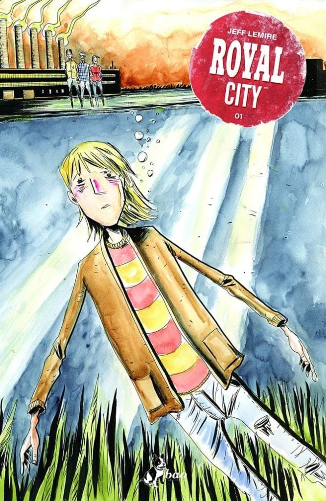 royal city jeff lemire bao