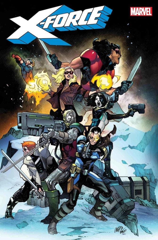x-force brisson fumetto marvel