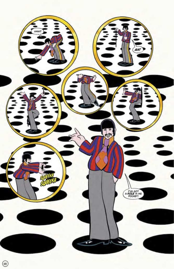 yellow submarine beatles fumetto