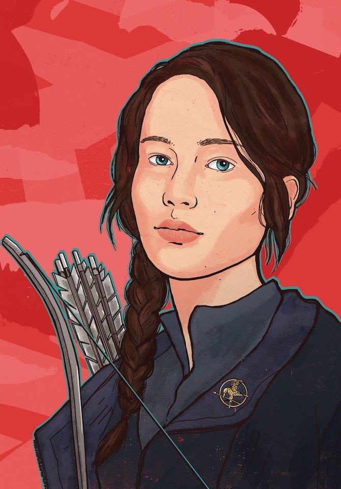 film illustrati Francesca Protopapa Hunger Games