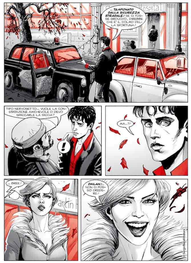 dylan dog morgan lost bonelli fumetto