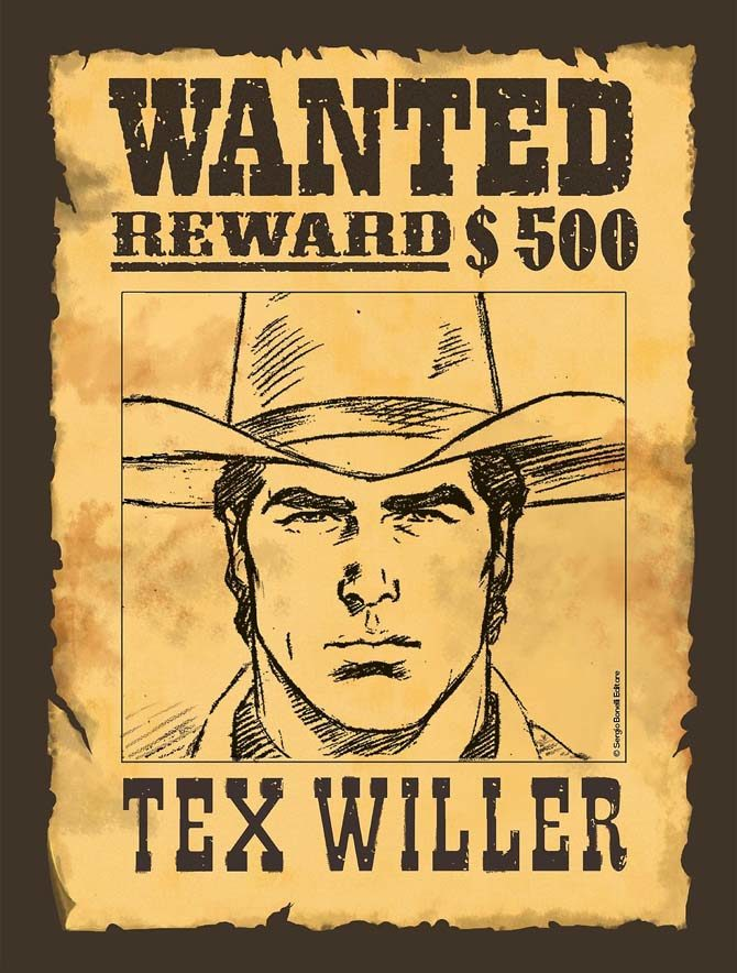 tex wanted box variant piccinelli