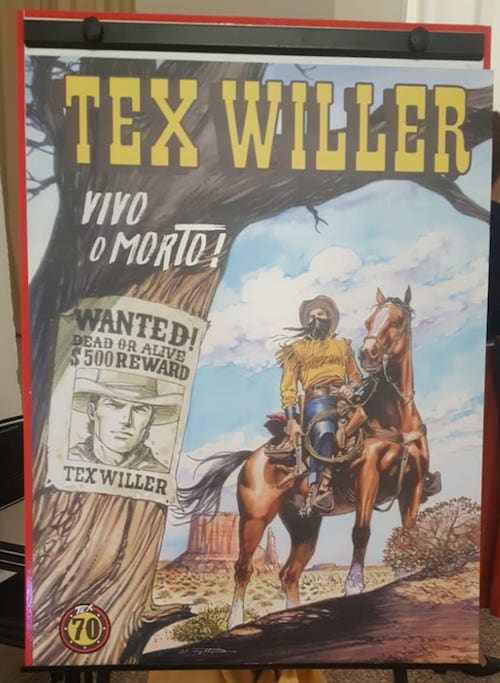 nuovo fumetto tex willer numero 1 vivo o morto bonelli