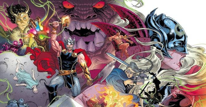 thor War of the Realms fumetti marvel