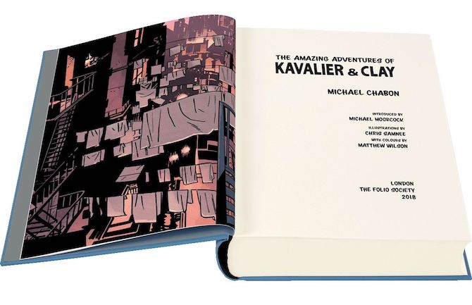 Kavalier e clay chris samnee