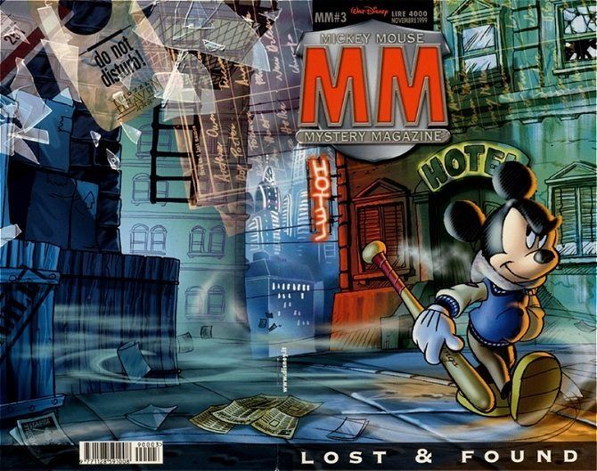 Mickey Mouse Mystery Magazine
