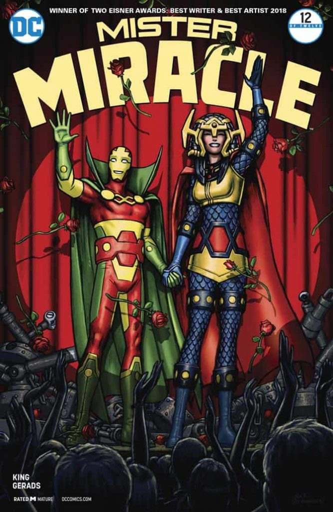 mister miracle king gerads fumetto dc