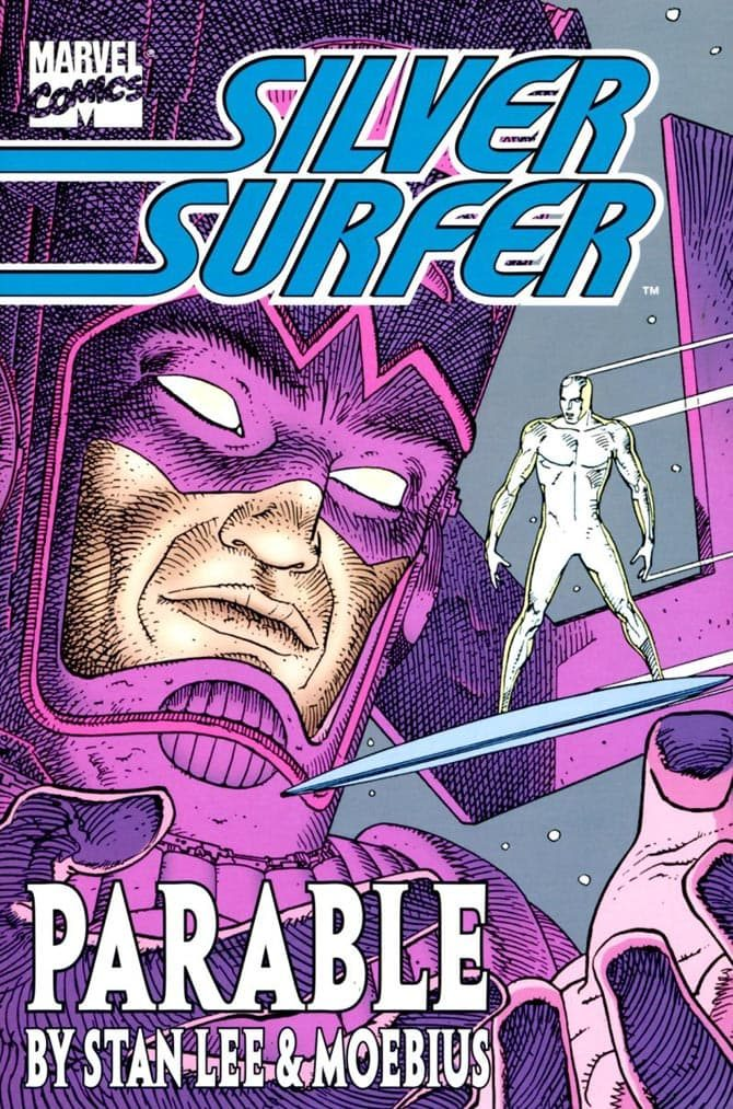 silver surfer parabola moebius stan lee storie